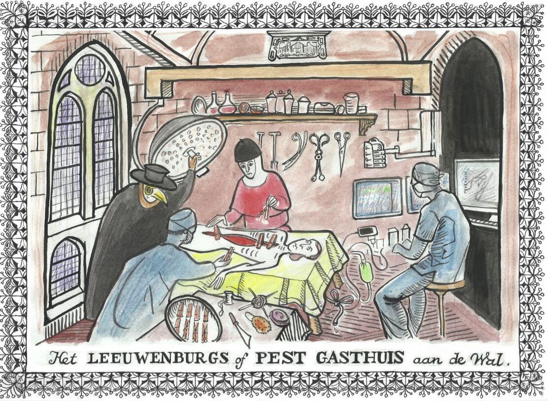 Il Calamaio - Leeuwenburgs of Pest gasthuis aan de wal - Nieuws030
