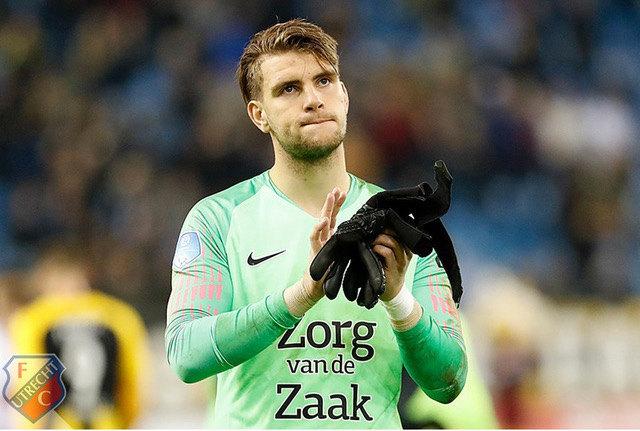 Maarten Paes. Foto: FC Utrecht