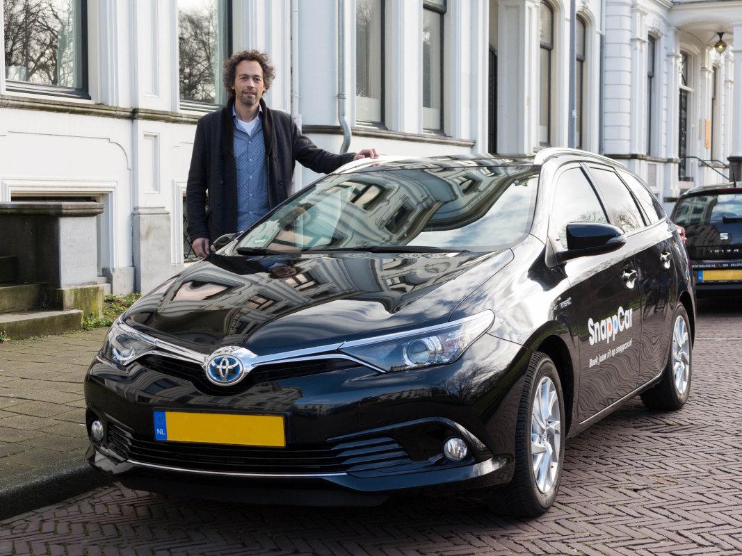 Met SnappCar verhuur/deel je je eigen auto. Foto: SnappCar
