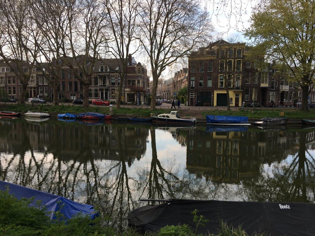 Singel, Weerdsingel Oostzijde en de Bergstraat. Foto: Dik Binnendijk