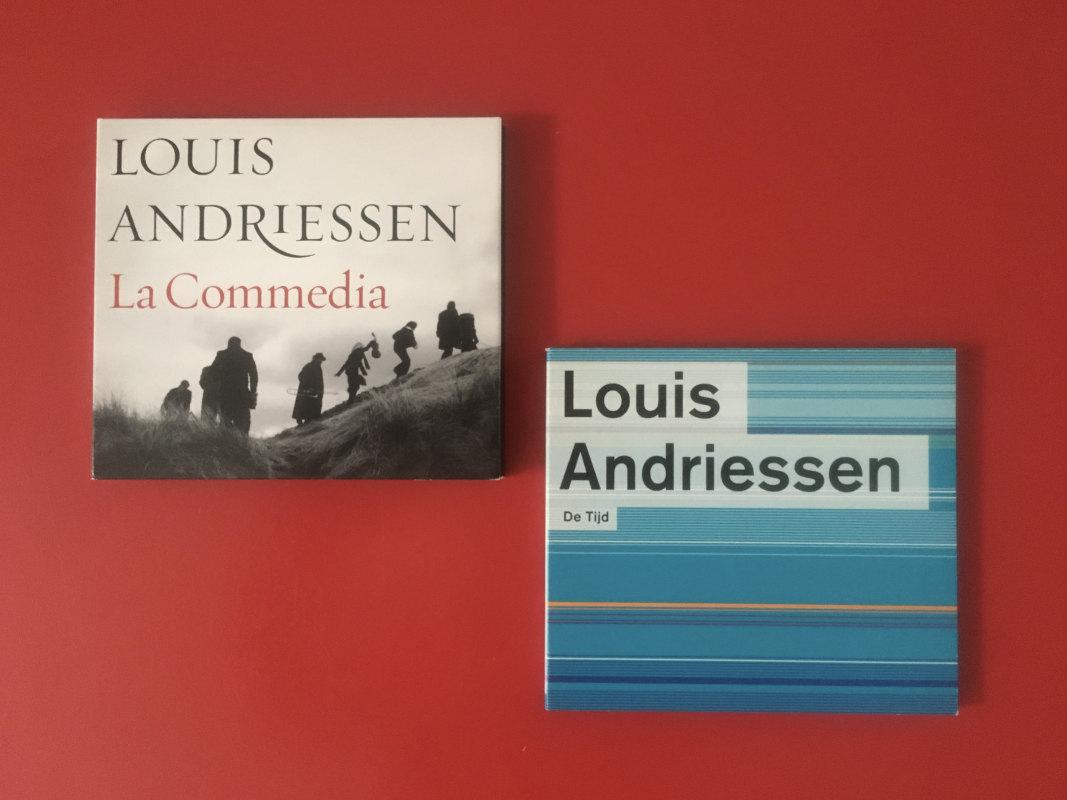 Twee composities van Louis Andriessen: De Tijd (1981) en de opera La Commedia (2008). Foto: Dik Binnendijk