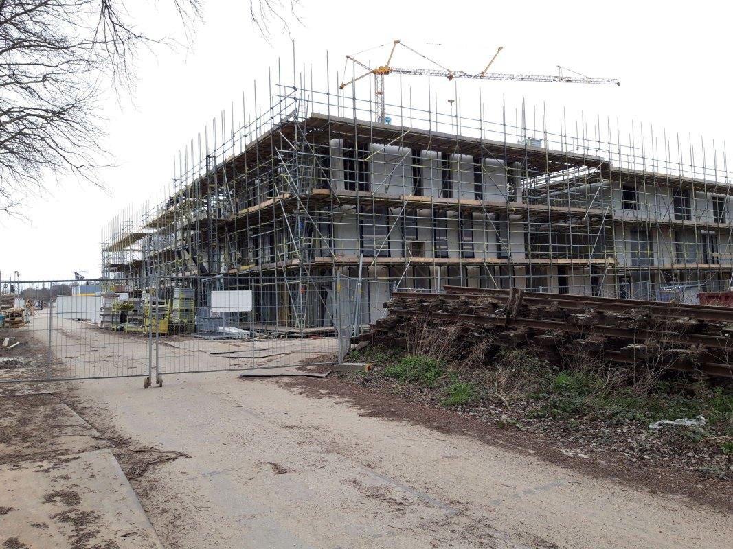 Bouwen en nog eens bouwen zoals hier in de Daalsebuurt. Foto: Ton van den Berg