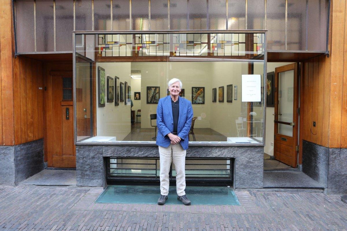 Max Tosseram voor Galeries Niek Waterbolk. Foto: Ton van den Berg