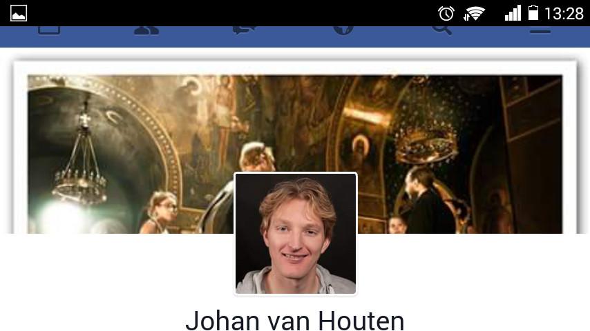 Johan van Houten is weer terug op facebook.
