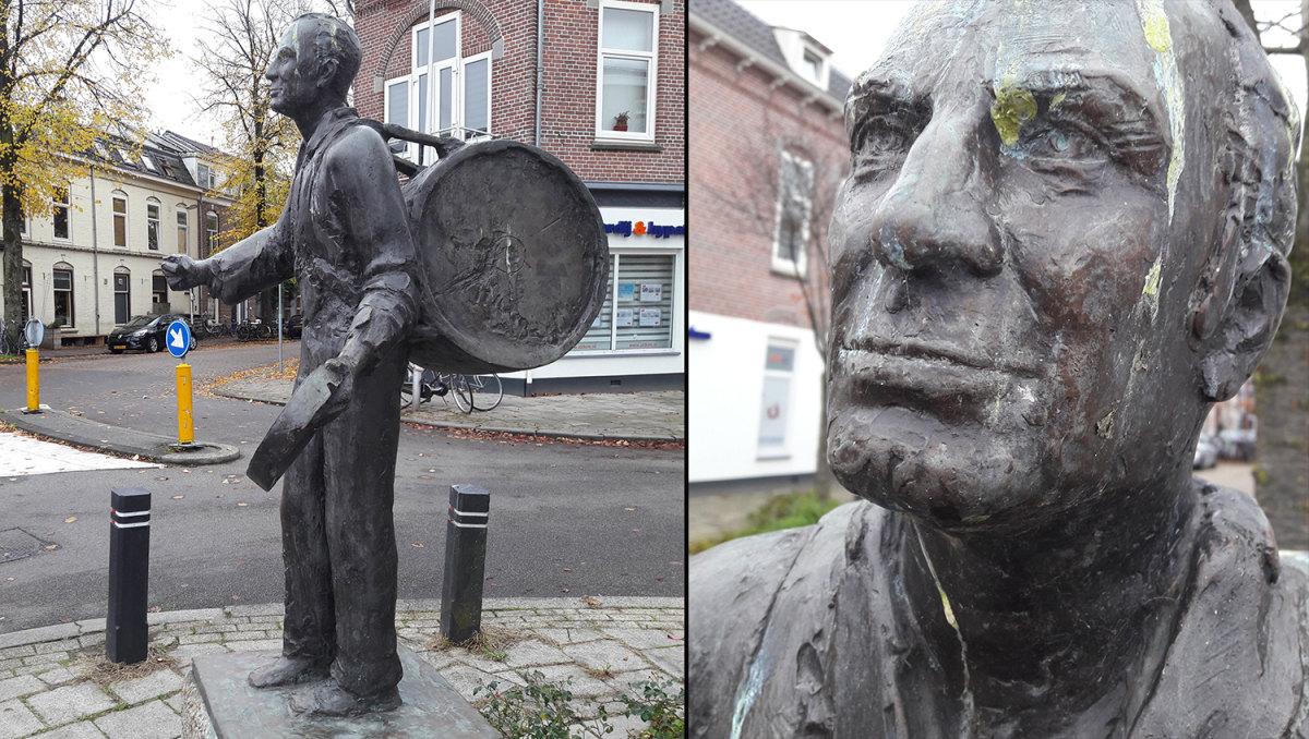 Wim Sonneveld als Nikkelen Nelis (foto's: Louis Engelman) - klik erop voor een vergroting