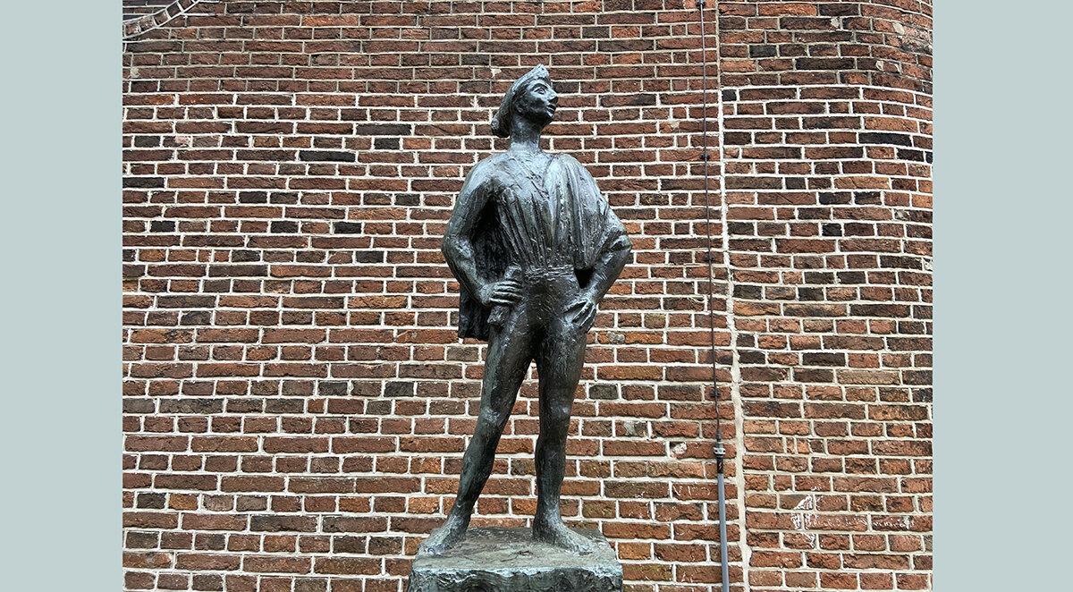 'François Villon' van Marius van Beek. Foto: Jim Terlingen