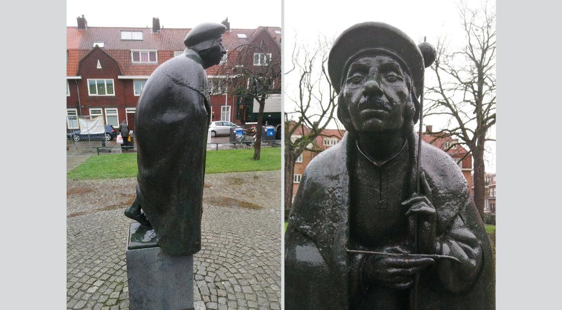 'Jan van Scorel' van Herman Janzen. Foto's: Otto Nelemans