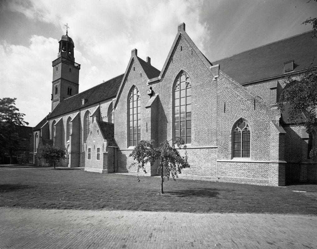 De Nicolaikerk (Klaaskerk) vlak na de restauratie in 1978. Foto: HUA
