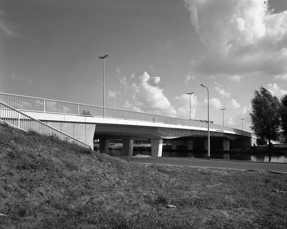 De Marnixbrug in 1971 over de Vecht bij Overvecht. Foto: Het Utrechts Archief