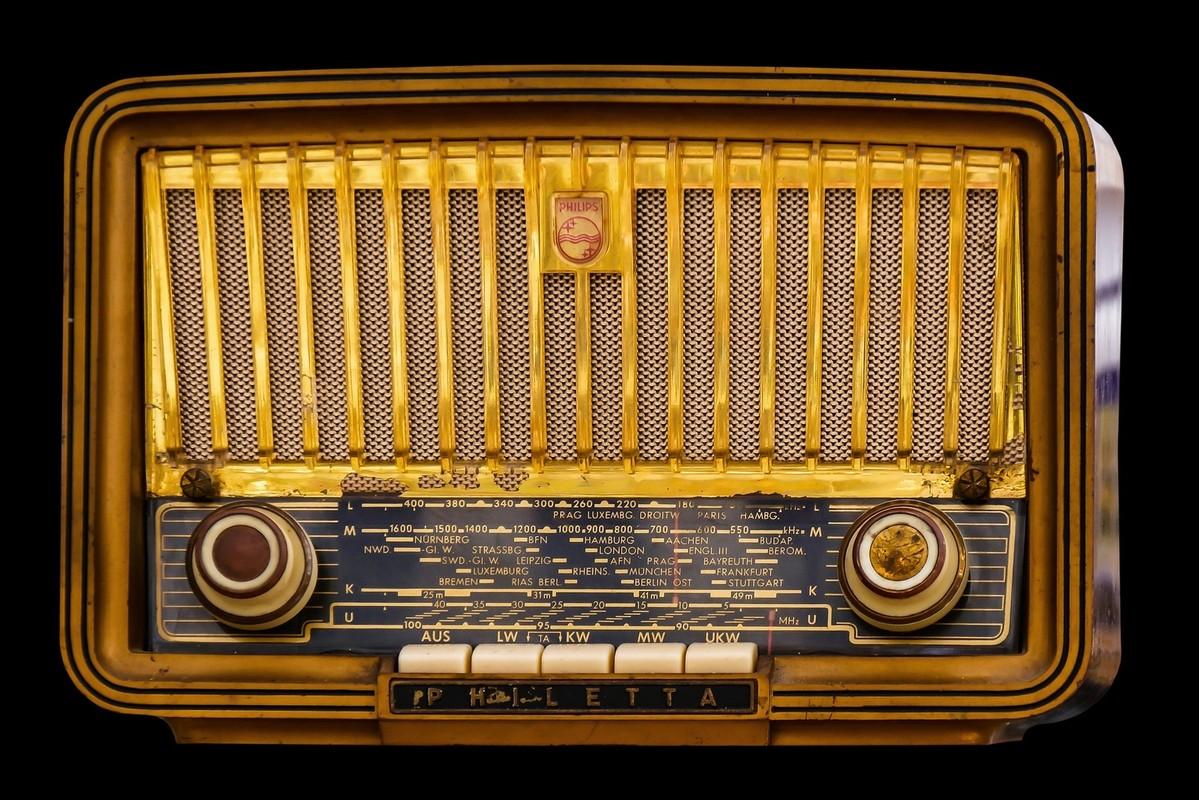 Philips-radio van het merk Philetta. Foto: Pixabay