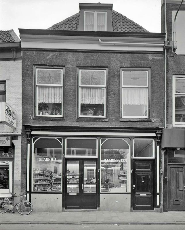 Het geboorthuis van Rene van Maarsseveen in de Wittevrouwenstraat. Foto: familie Van Maarsseveen