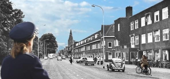De voorstelling 'Wie was De Winter' verhaalt over een leven op Zuilen. Foto: uitsnede van het affiche.