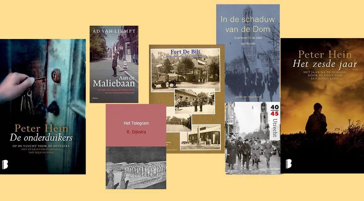 Recente non-fictie-boeken over de Tweede Wereldoorlog in Utrecht