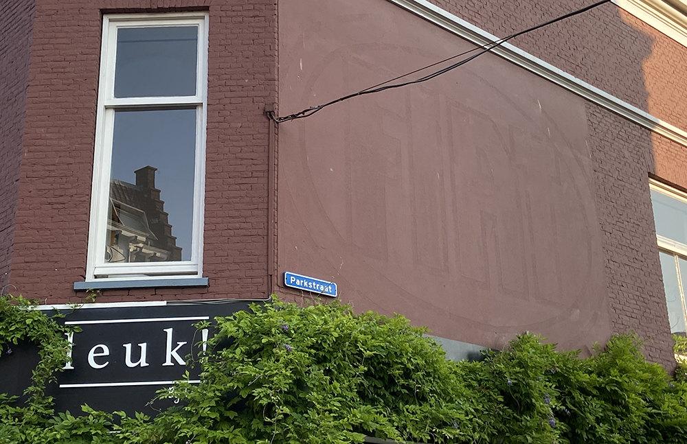 Hoek Parkstraat-Nachtegaalstraat. Foto: Jim Terlingen