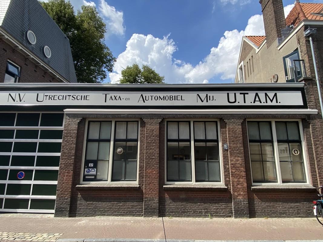 Augustus 2020, de nieuwe UTAM-schildering bij Ridderschapstraat 6 is klaar. Foto: Jim Terlingen