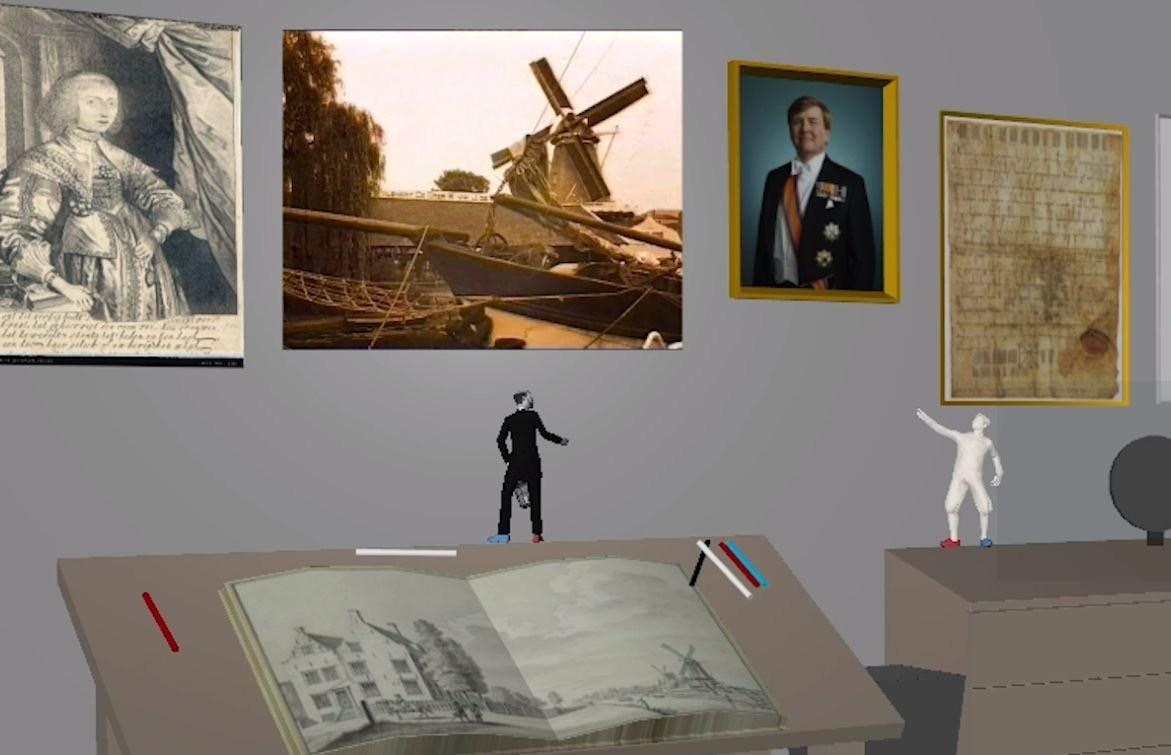 Er zijn pratende schilderijen en personages uit een boek die tot leven komen. Beeld: Het Utrechts Archief