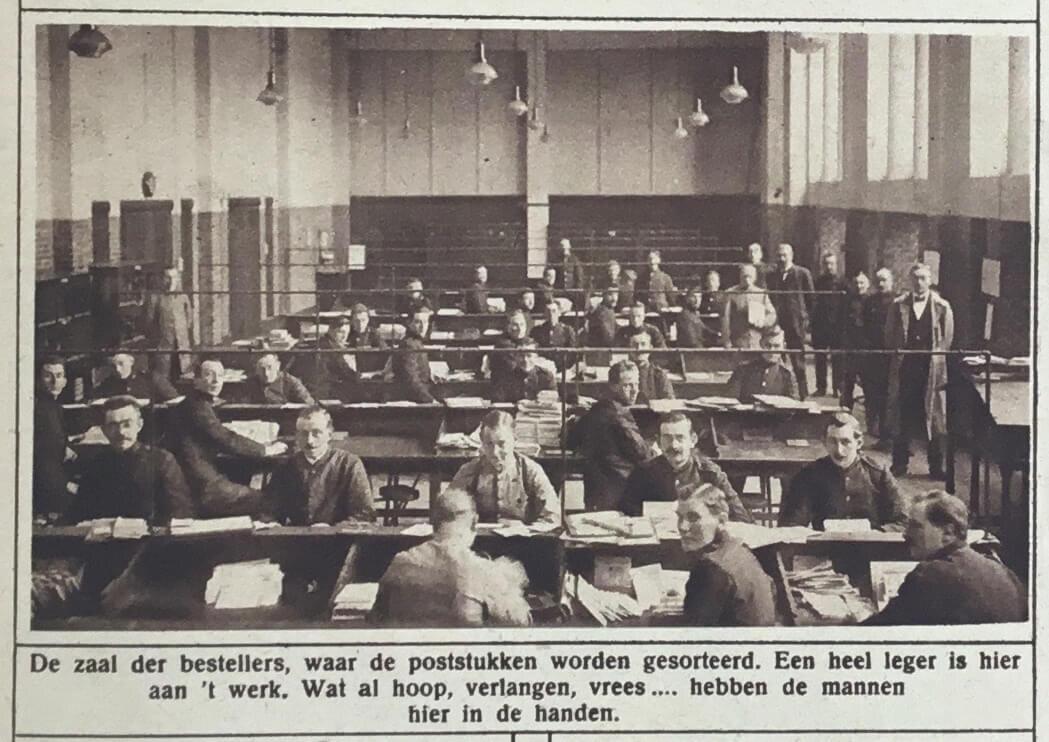Het nieuwe postkantoor (1925)