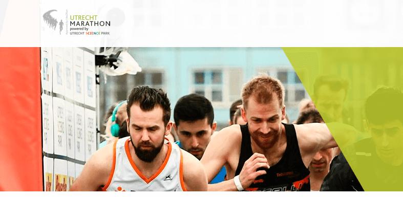 Afbeelding: de site van de Utrecht Marathon