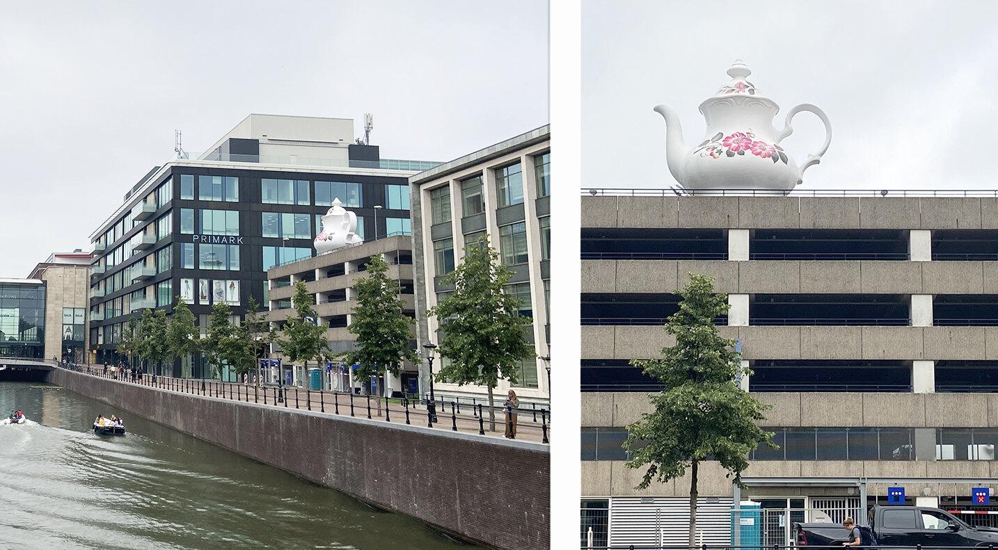 The Celestial Teapot is weer zichtbaar, 14 juli 2021. Foto: Jim Terlingen