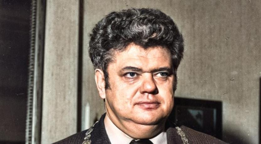 Henk Vonhoff, 1979 (foto: Utrechts Archief, inkleuring: Jim Terlingen)