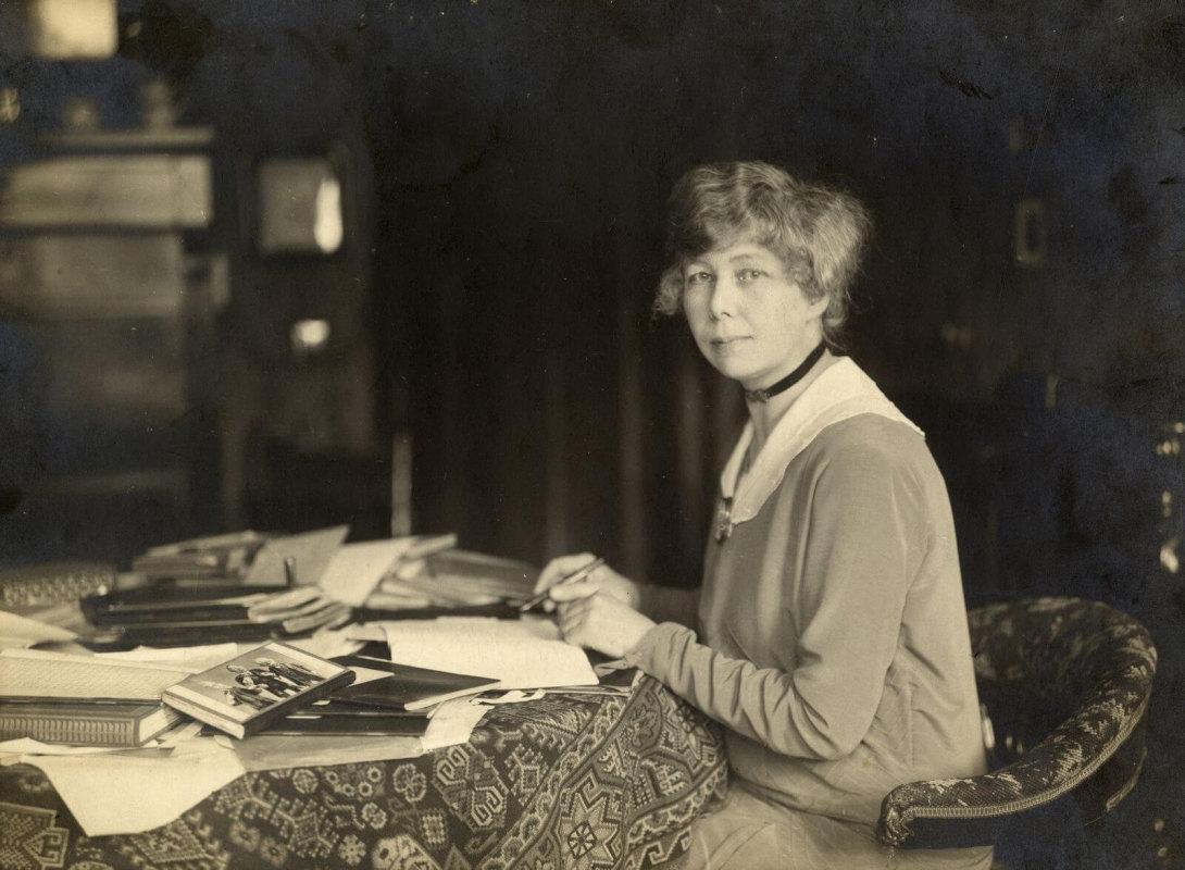 Ina Boudier-Bakker (1929). Foto F. Kramer, collectie Utrecht Archief