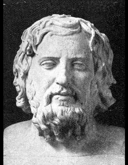 Xenophon, de historicus was geen filosoof. Foto: Wikimedia