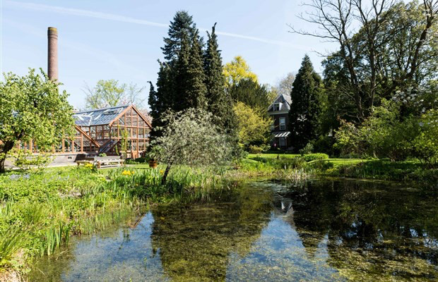 Het terrein van de Oude Hortus. Foto: Oude Hortus