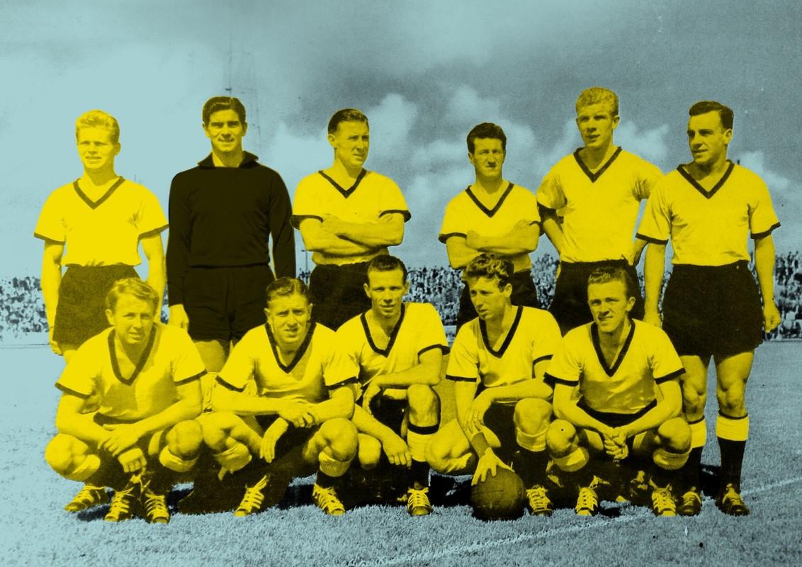 DOS in 1958, waar het allemaal begon voor Frank Slijper. Foto: archief, bewerking: Aluin