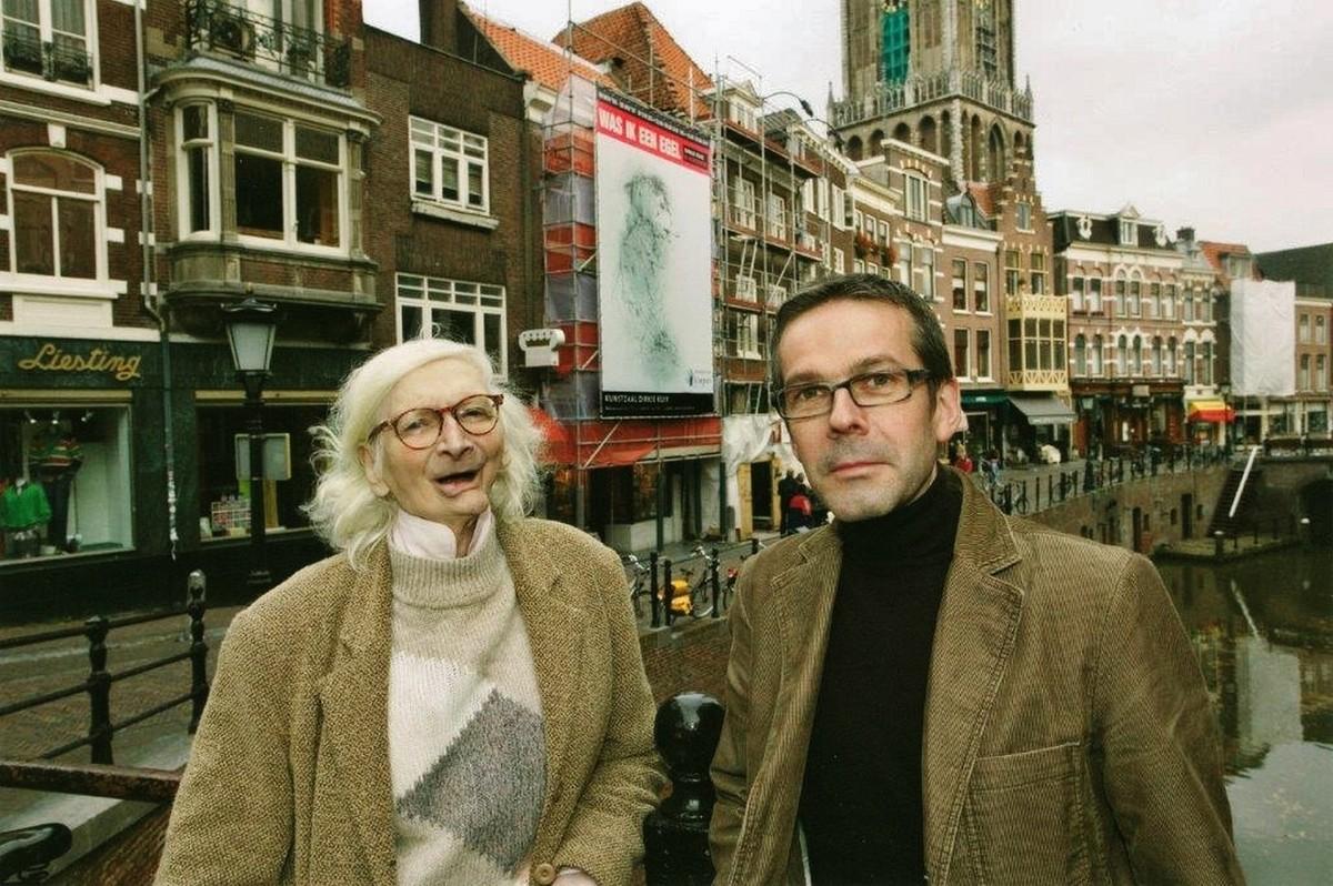 Dirkje Kuik samen met Jos te Water Mulder in 2006. Foto: Ruben de Heer
