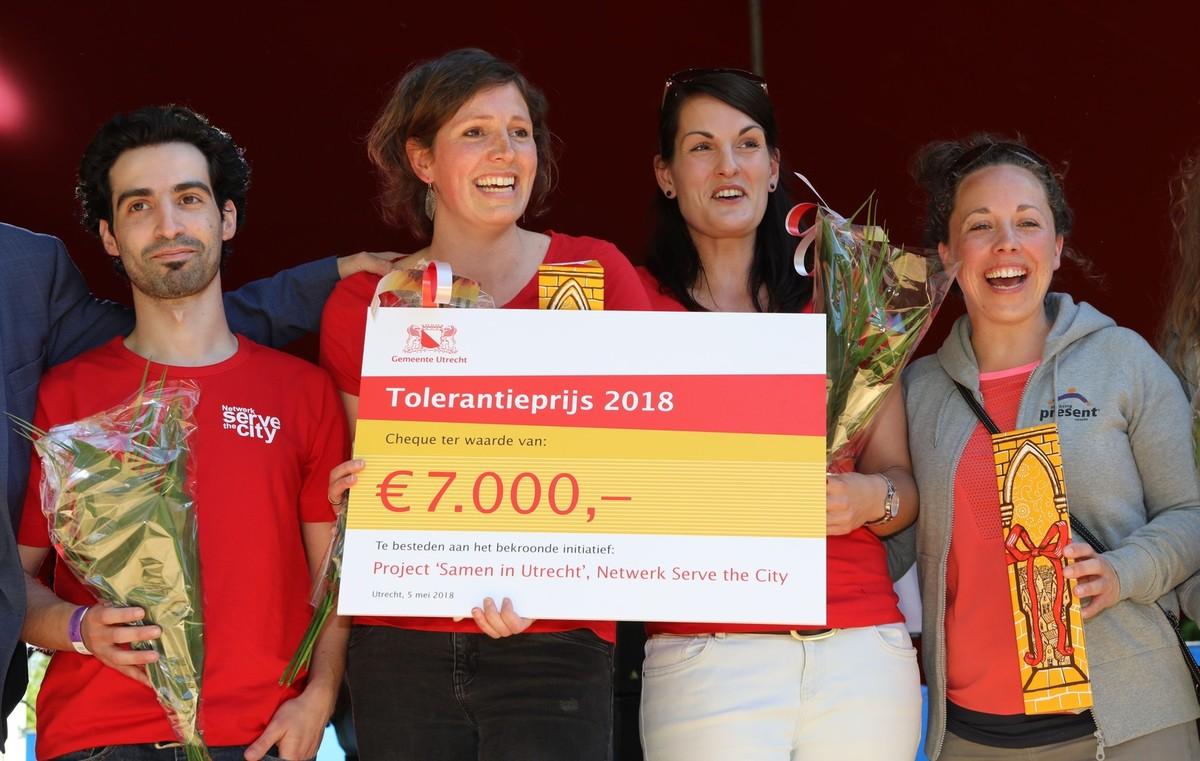 Winnaar Samen in Utrecht. Foto: Ton van den Berg