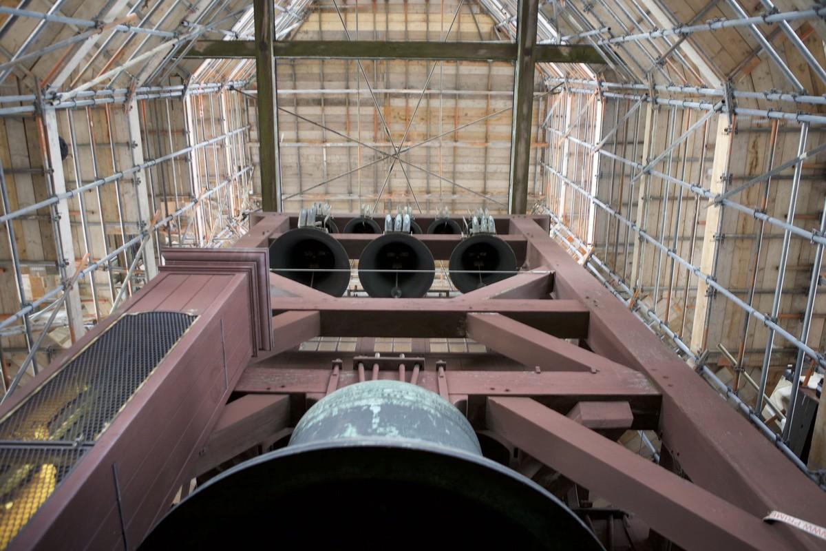 Deel van het Domcarillon van de Domtoren. Foto: Ton van den Berg