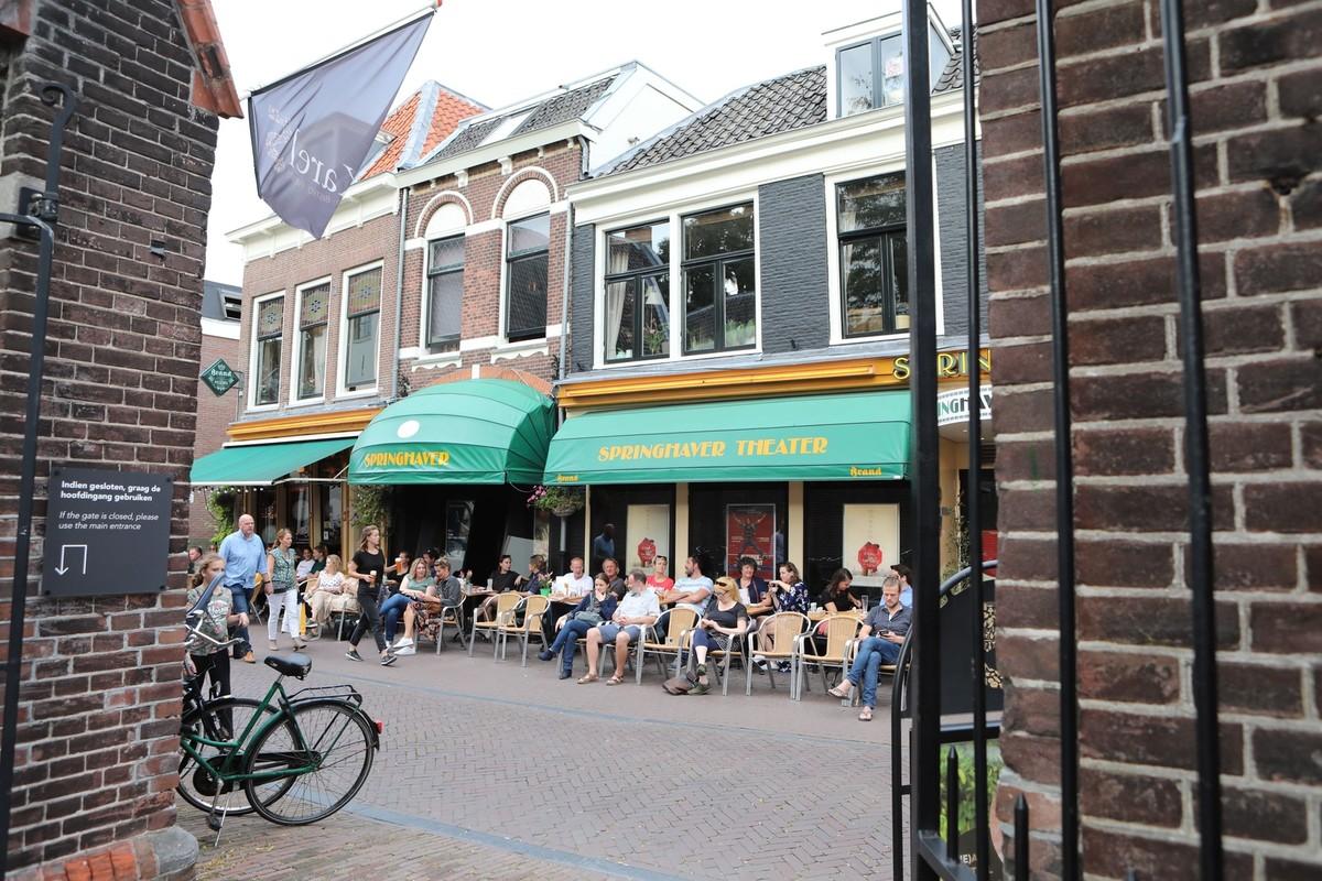 Café Springhaver. Foto: Ton van den Berg