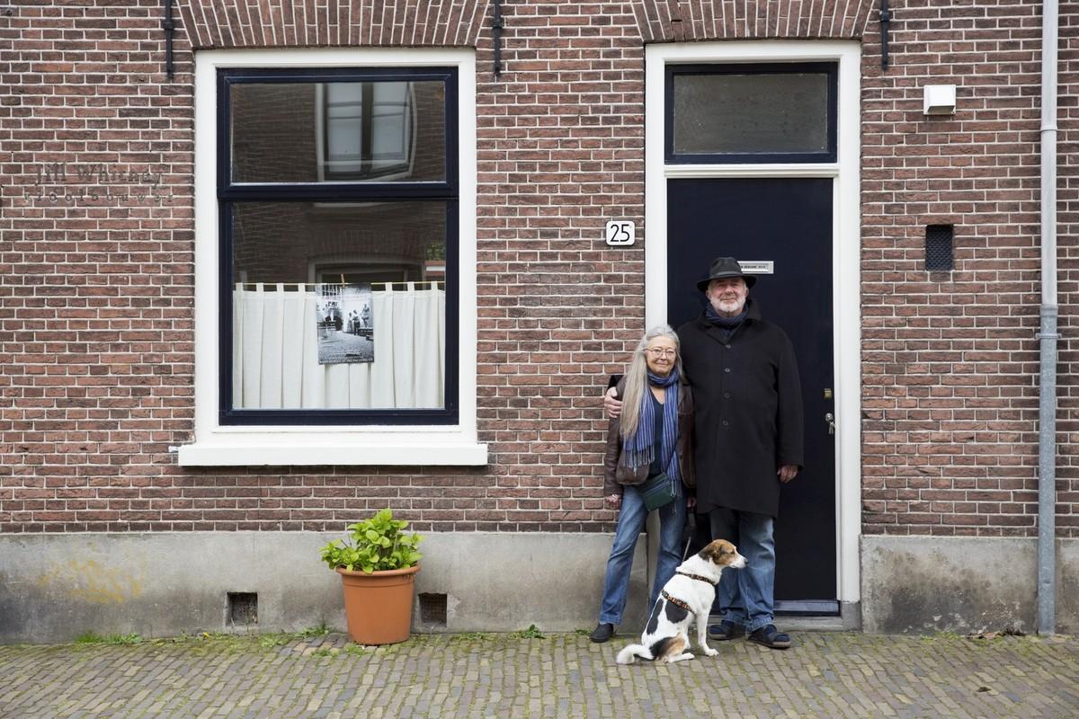 Een van de foto's die Iris Tasseron maakte voor Utrecht aan de Singel.