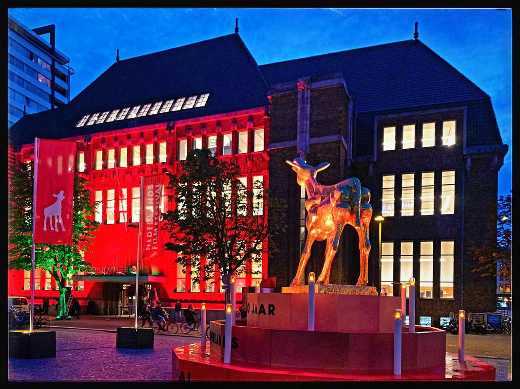 Filmfestival vindt deels in Bieb op de Neude plaats. Foto: Michael Kooren