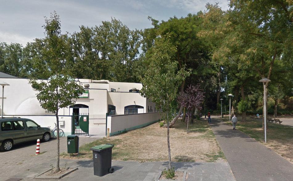 Bomen op het Attleeplantsoen. Foto: Googlemaps