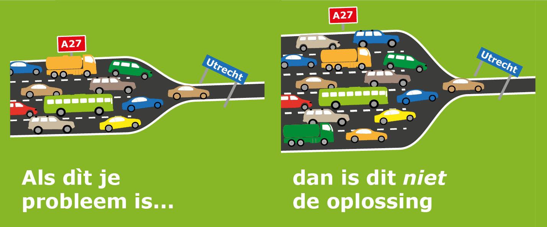 Flyer van de Kerngroep Ring Utrecht