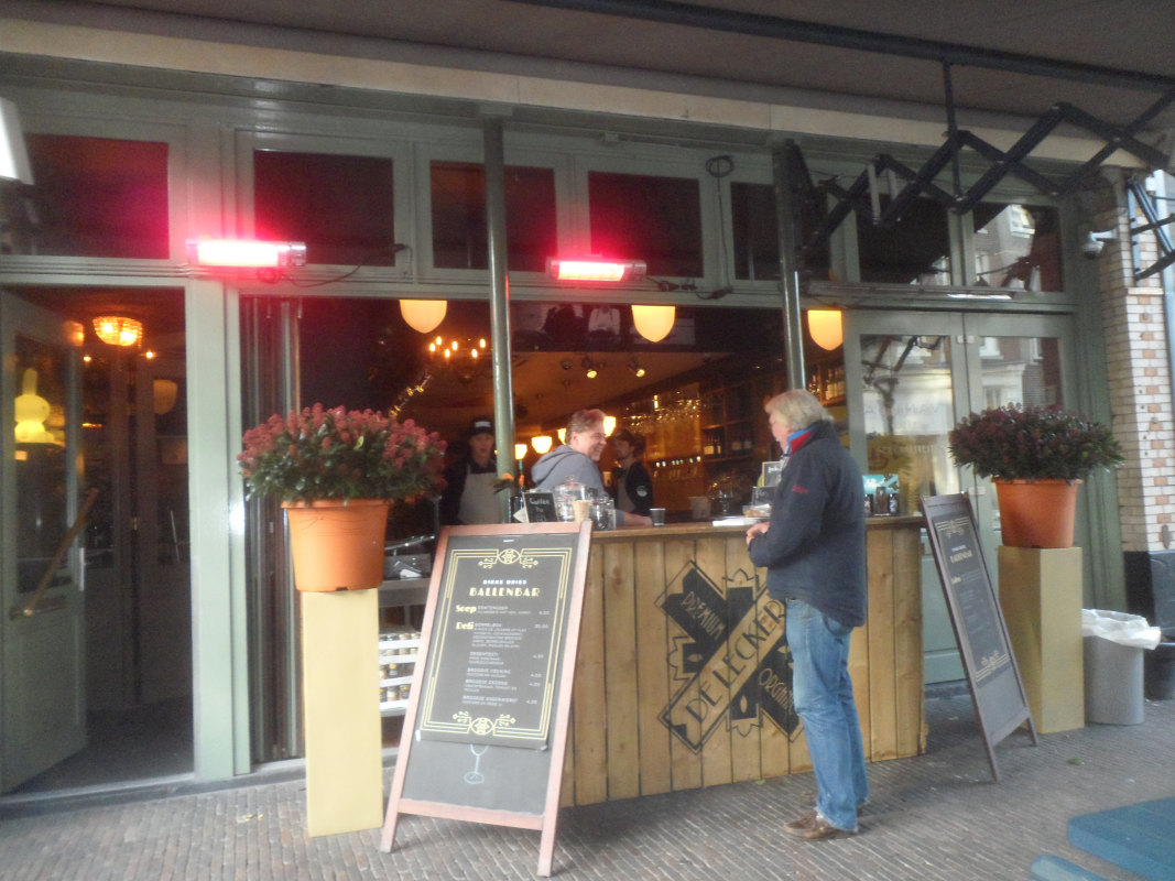 Nieuwe Dikke Dries op Oudkerkhof. Foto: Frans de Jonge