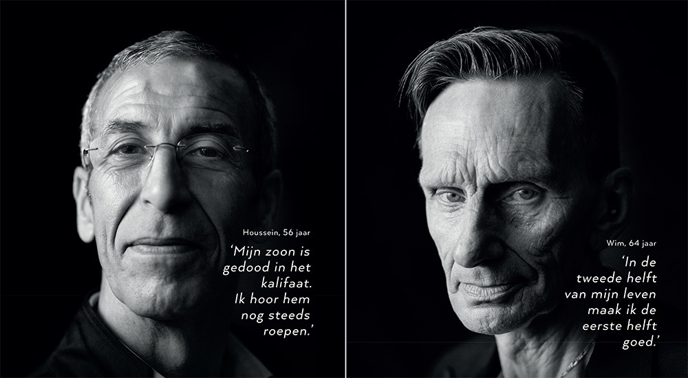 Twee van de zes Utrechtse hoofdpersonen van het requiem. Foto's: Marcel Prins