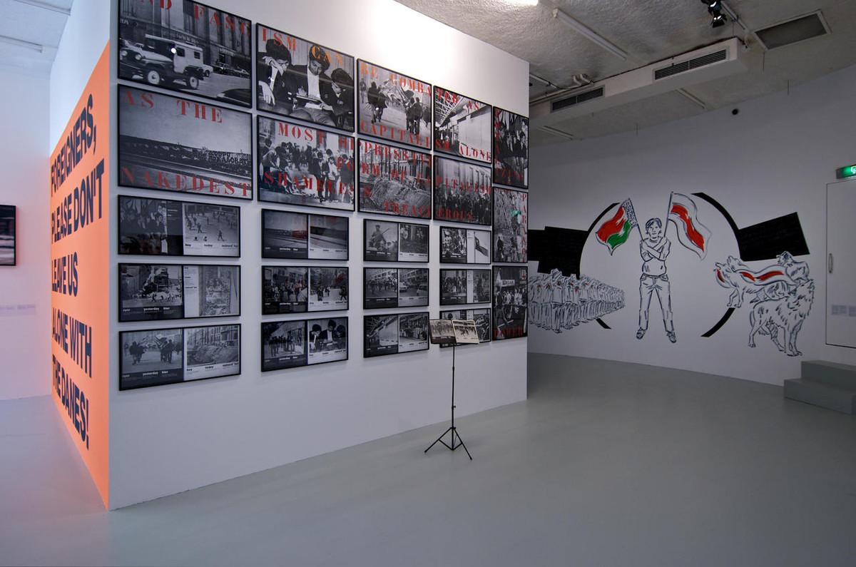 Een expositie van BAK. Foto: Utrechts Verbond