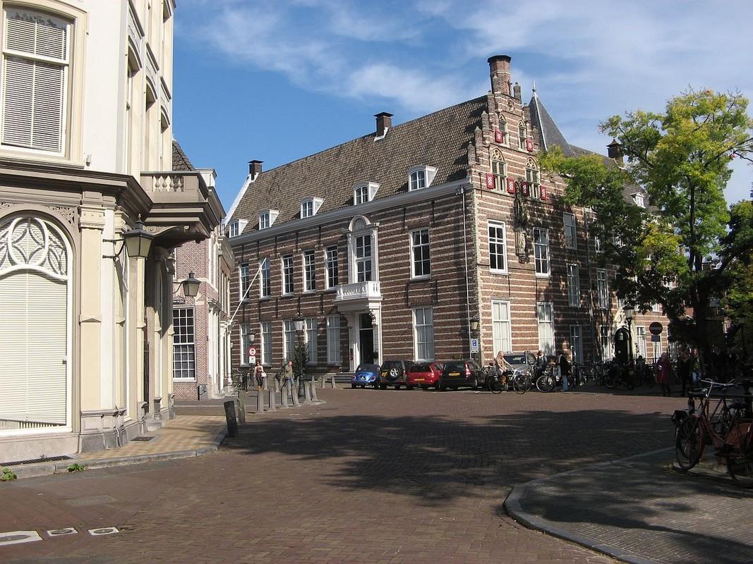 De mooiste vijfsprong van de stad volgens Marsman. Foto: Willem Geijssen.