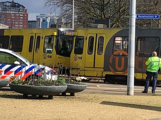 18 maart, kort na de aanslag op het 24 Oktoberplein. Foto: Jeroen Wielaert