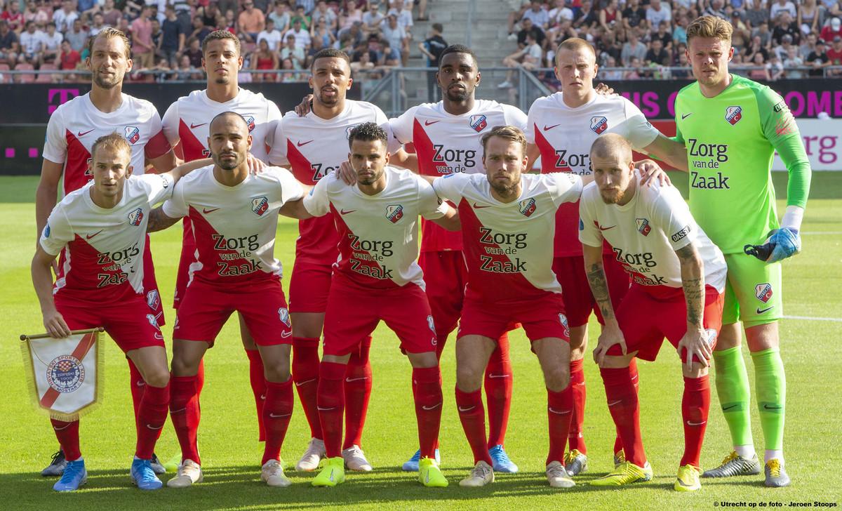 FC Utrecht in juli 2019 op weg naar het seizoen 2019-2020. Foto: Jeroen Stoops