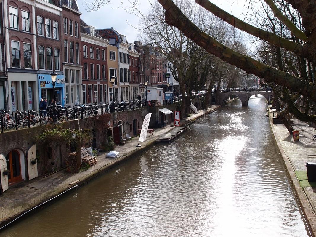 Sfeer maakt Utrecht aantrekkelijk, zoals aan de Oudegracht. Foto: Louis Engelman