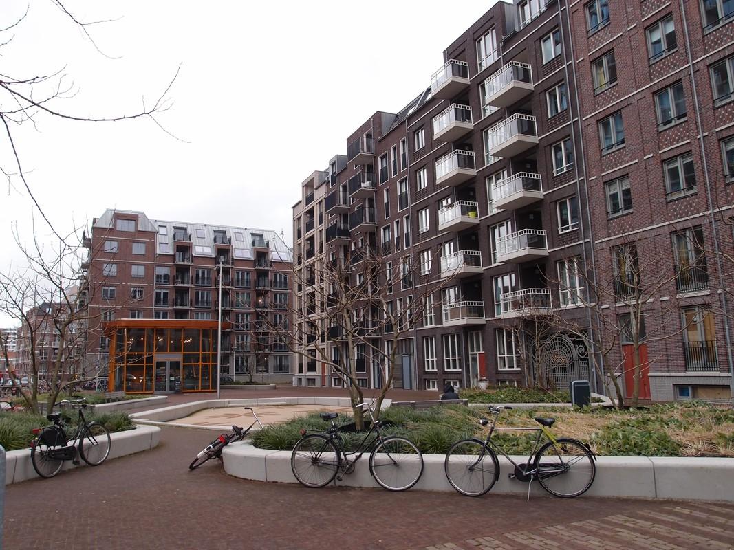 De belangstelling voor het wonen in het centrum van de staat is sterk toegenomen blijkt ook in Zijdebalen. Foto: Louis Engelman