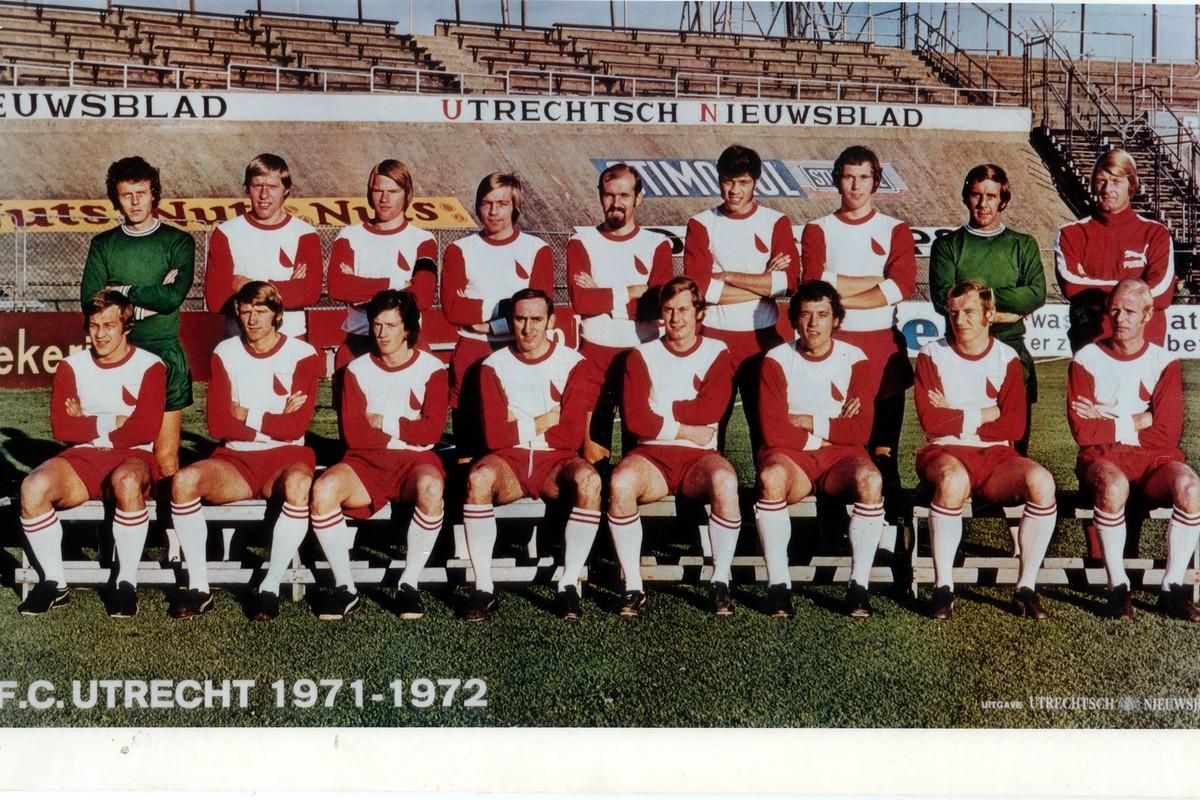 FC Utrecht in seizoen 1971-1972. Foto: archief FC Utrecht