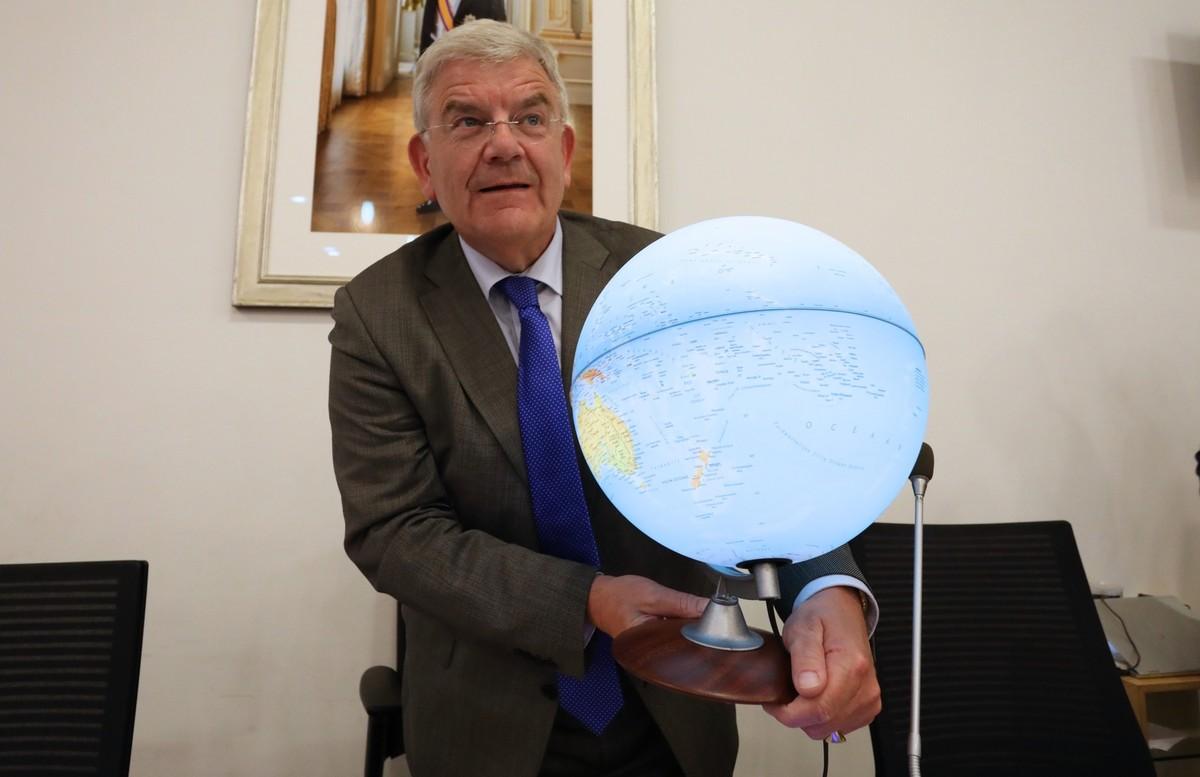 Jan van Zanen wordt per 1 juli burgemeester van Den Haag. Foto: Ton van den Berg