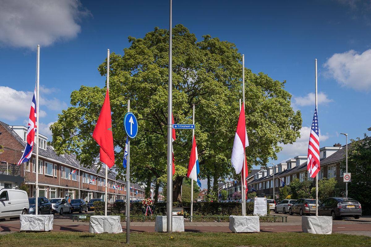 Monument in Hoograven. Foto's: Desiree Meulemans